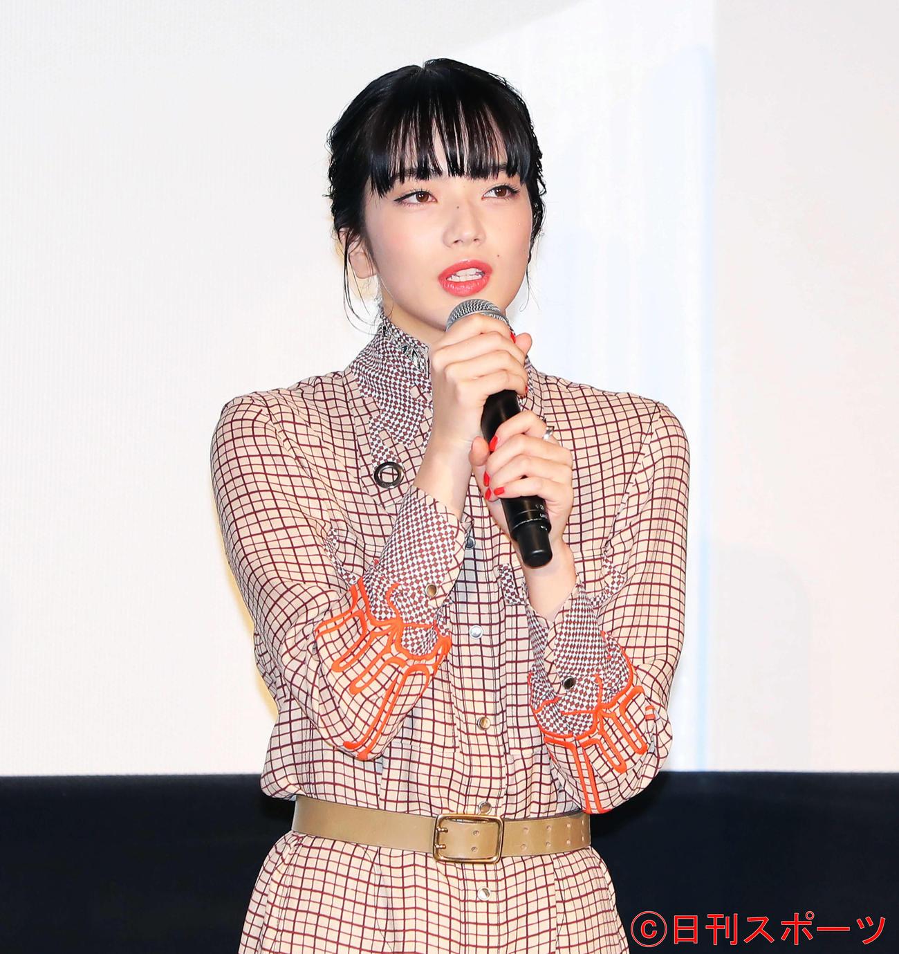 小松菜奈(20年8月撮影)