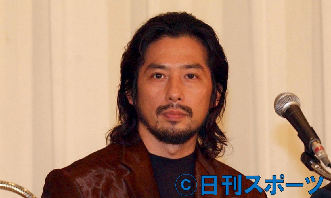 真田広之(2002年10月撮影)