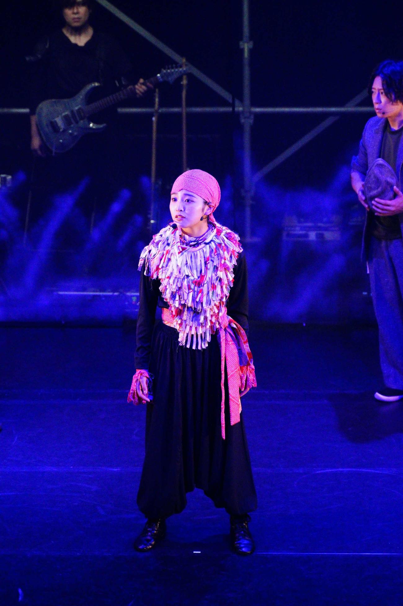 「天神夢双」で初舞台初主演を果たす佐竹桃華