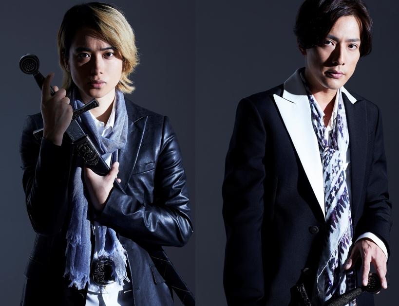 舞台「フォーティンブラス」に主演する戸塚祥太(左)と内博貴