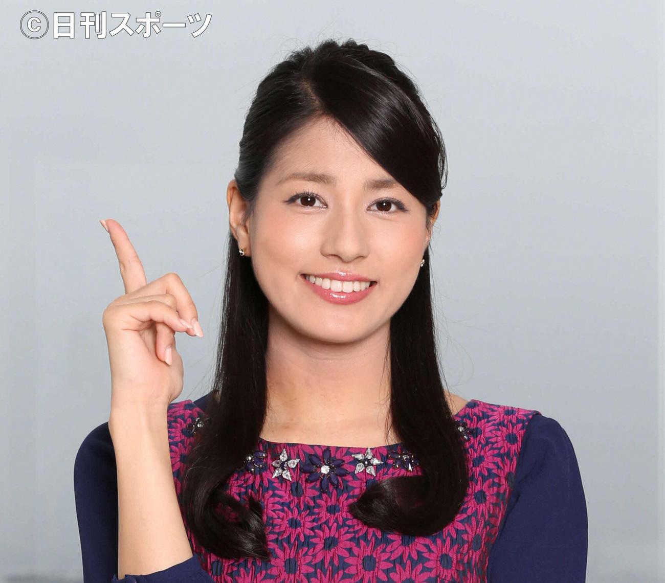 フジテレビの永島優美アナウンサー(14年10月撮影)
