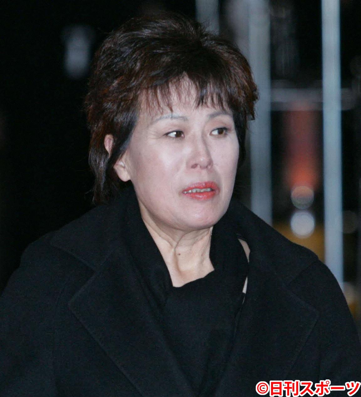 李麗仙さん(2006年3月撮影)