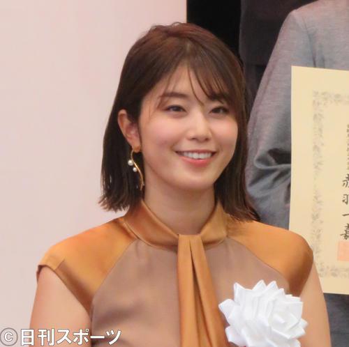 稲村亜美(2020年7月撮影)