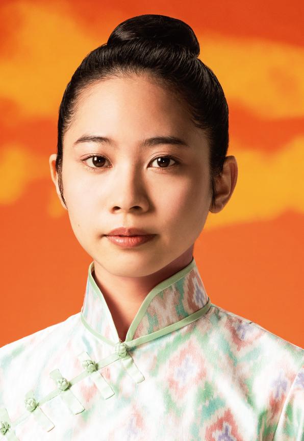ミュージカル「ミス・サイゴン」でヒロイン、キム役を演じる屋比久知奈
