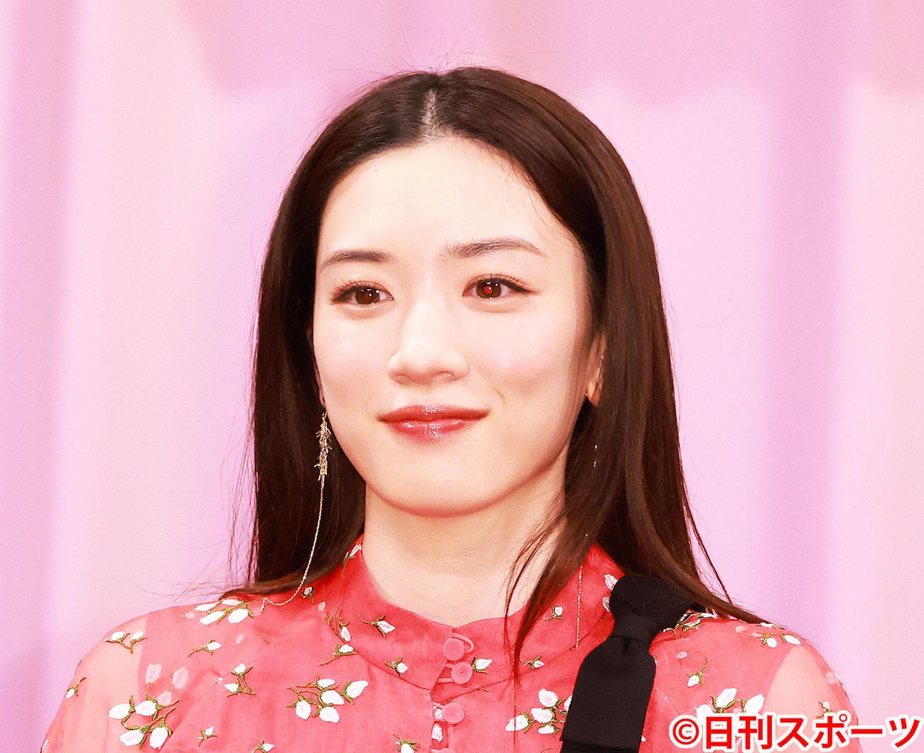 永野芽郁(2021年3月撮影)