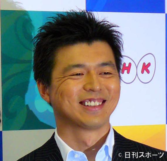 豊原謙二郎アナ(2008年5月撮影)