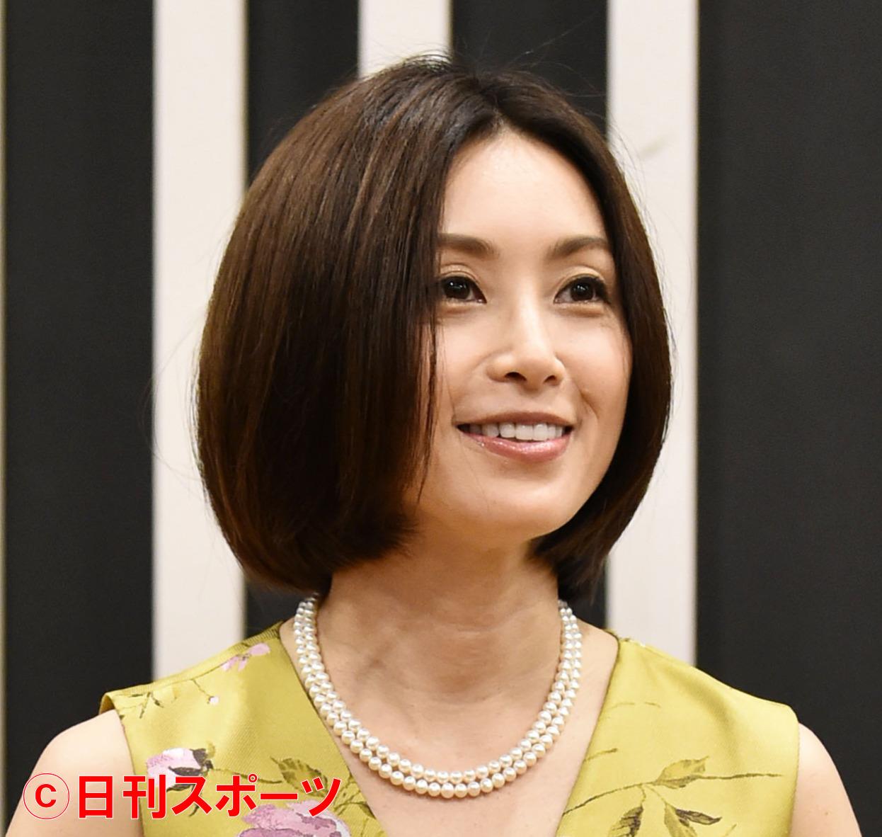 酒井法子(2021年7月撮影)