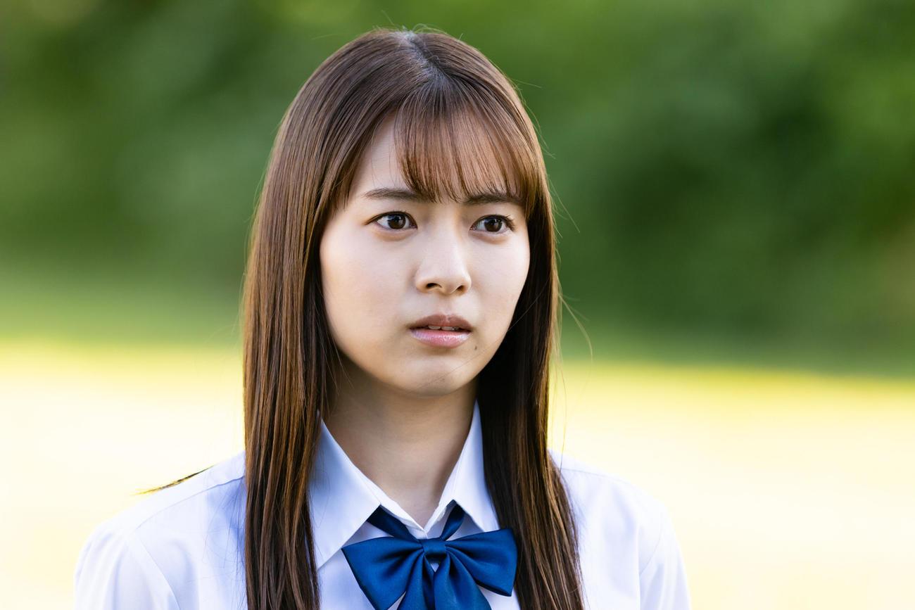 テレビ朝日系ドラマ「ザ・ハイスクールヒーローズ」第2話にゲスト出演する新條由芽