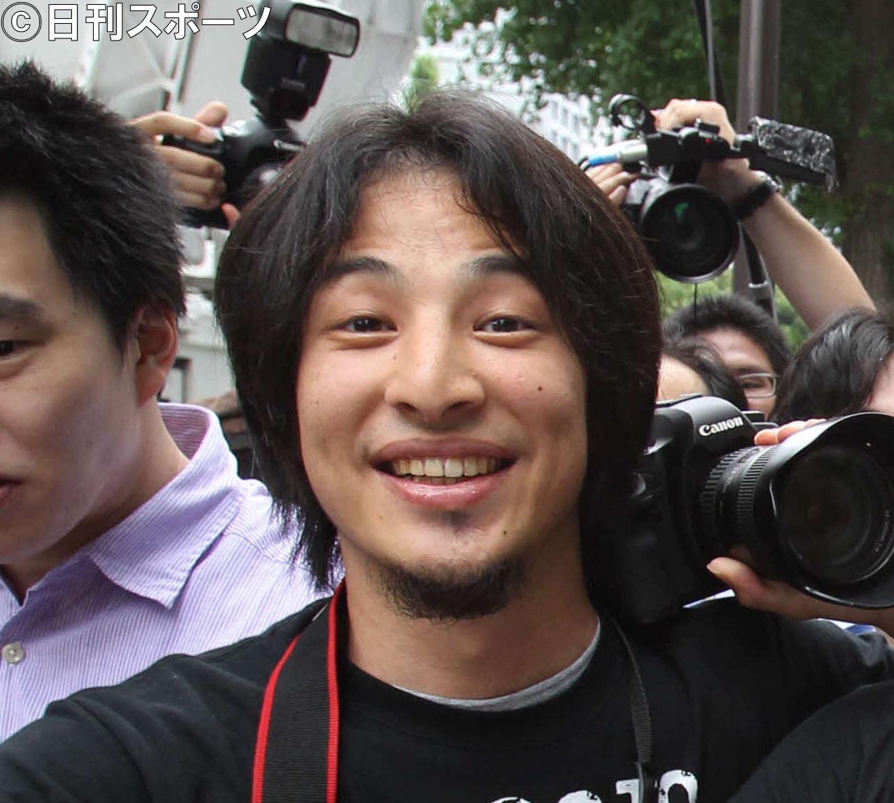 ひろゆき氏(2011年6月撮影)