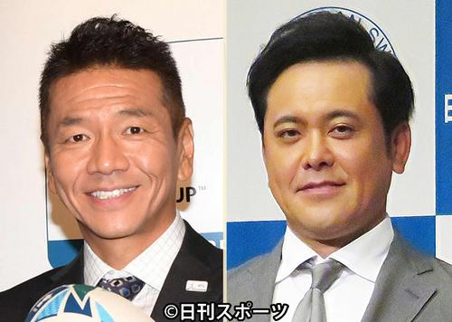 くりぃむしちゅー上田晋也(左)と有田哲平
