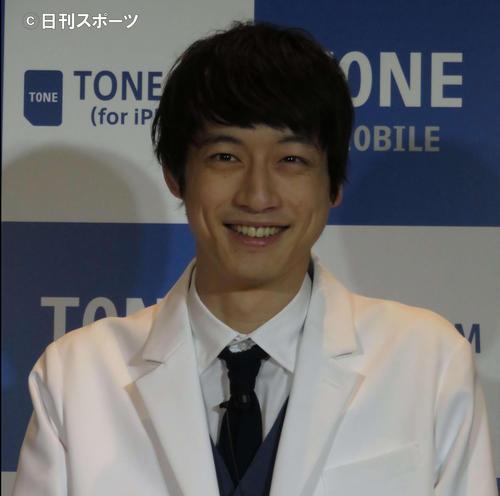 坂口健太郎(2018年4月撮影)