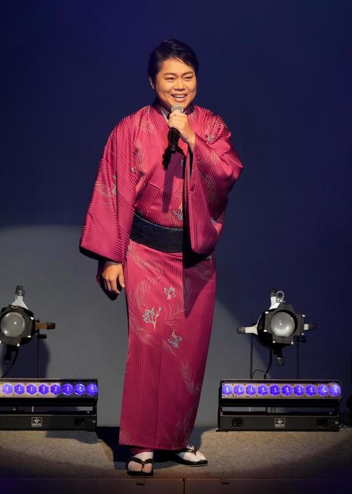 三山ひろしがコンサート開催「お客さんの心の中に描けるような歌を」