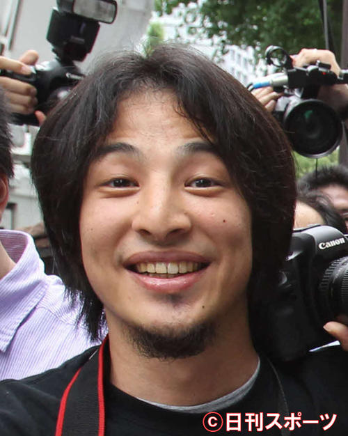 「ひろゆき」こと西村博之氏(2011年6月撮影)