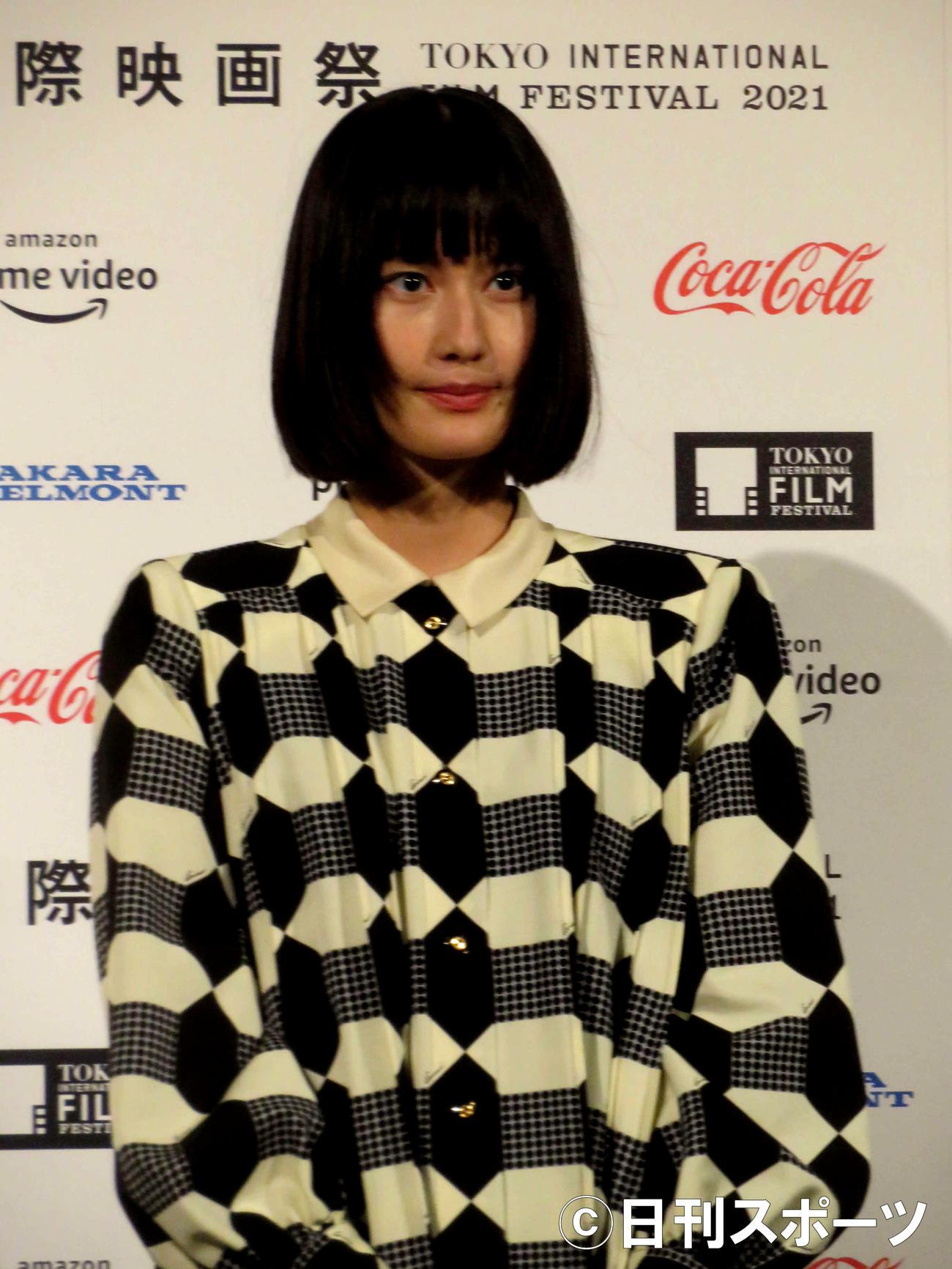 第34回東京国際映画祭フェスティバルアンバサダーに就任した橋本愛(撮影・村上幸将)