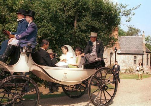 96年8月20日 ロンドン挙式