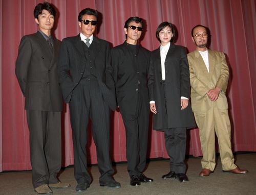 98年9月5日   映画「あぶない刑事フォーエヴァー」舞台あいさつ