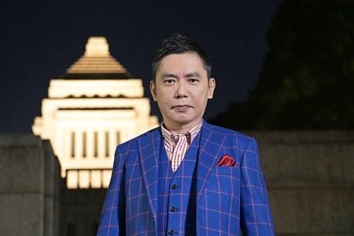 TBS系「選挙の日2021 太田光と問う!私たちのミライ」で選挙特番に初挑戦する太田光 (C)TBS