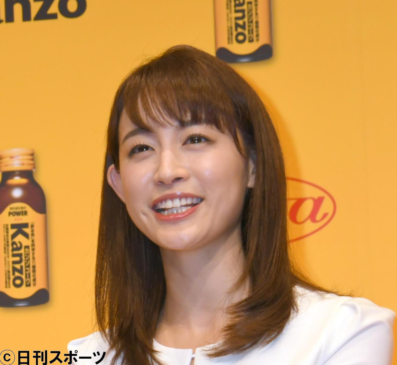 新井恵理那(2018年10月撮影)