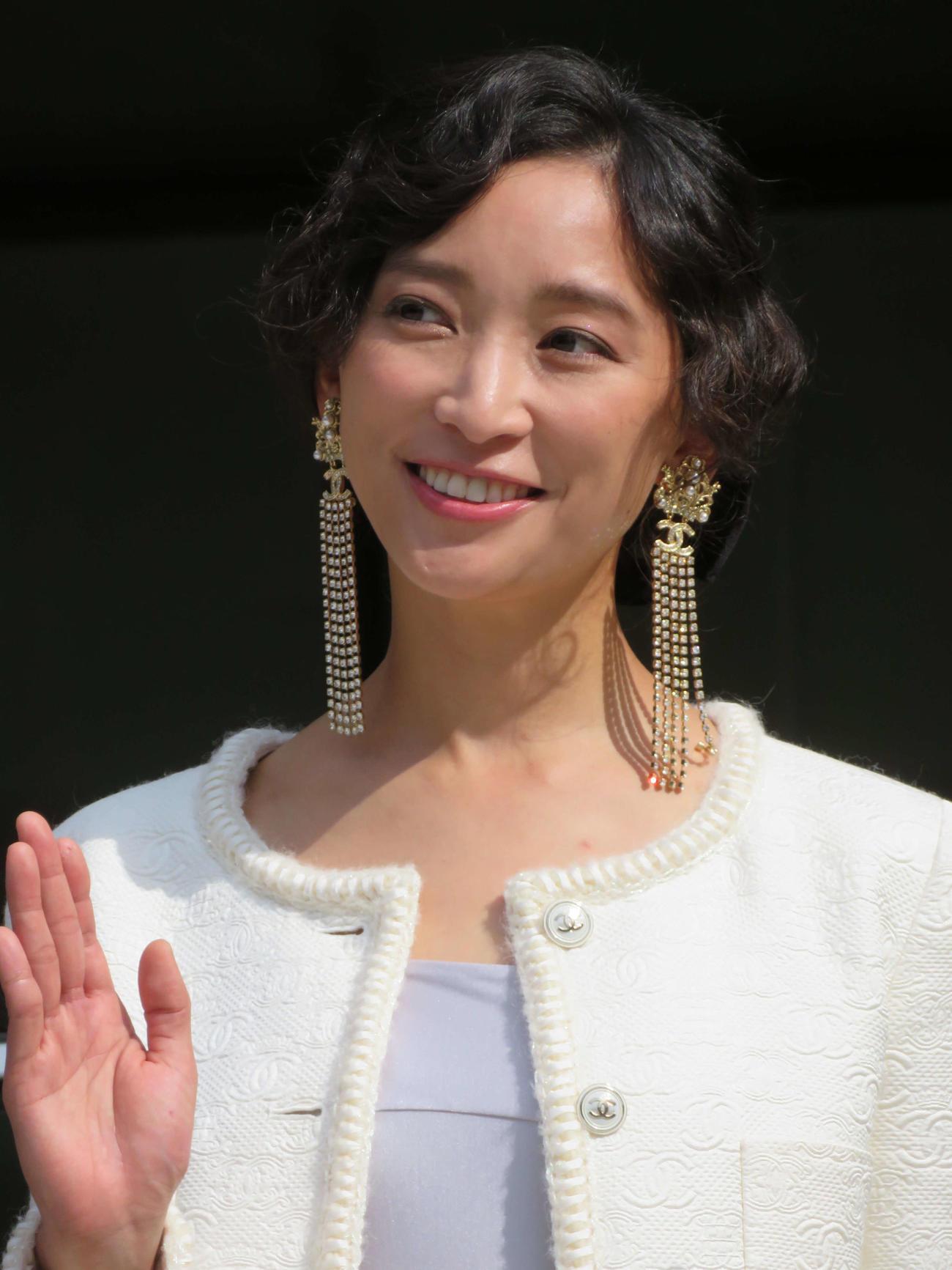 「フランス映画祭2021横浜」のラインアップ記者会見に登壇した杏(撮影・三須佳夏)