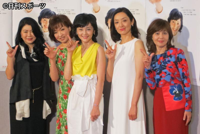 南果歩 News: 南果歩「心身ともに疲れて…」主演ドラマ会見で語る