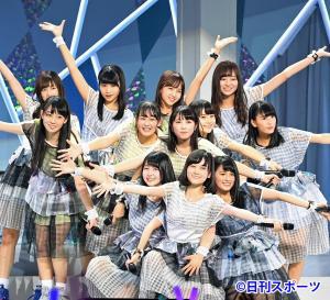 乃木坂46の3期生初お披露目 センターは大園桃子
