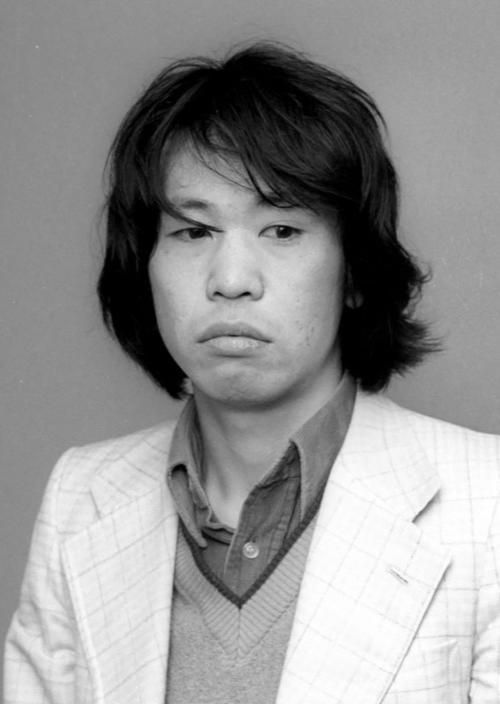 死去した吾妻ひでおさん(1980年撮影、共同)