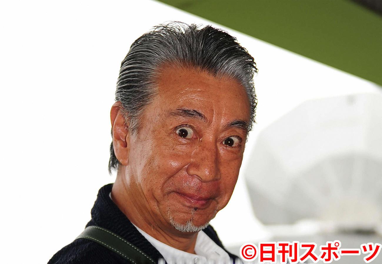 高田純次(2015年8月30日撮影)