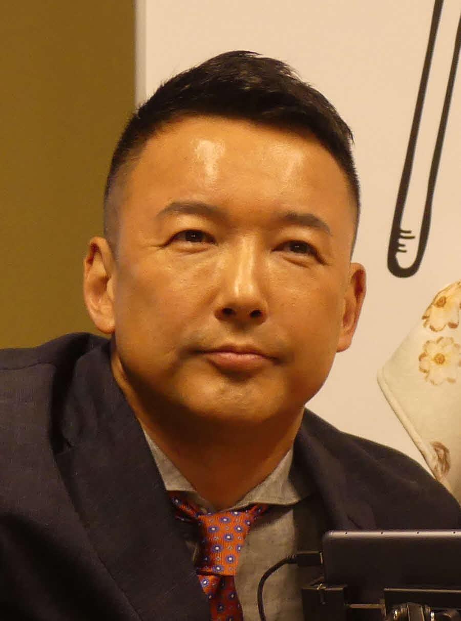 山本太郎代表(2019年6月28日撮影)