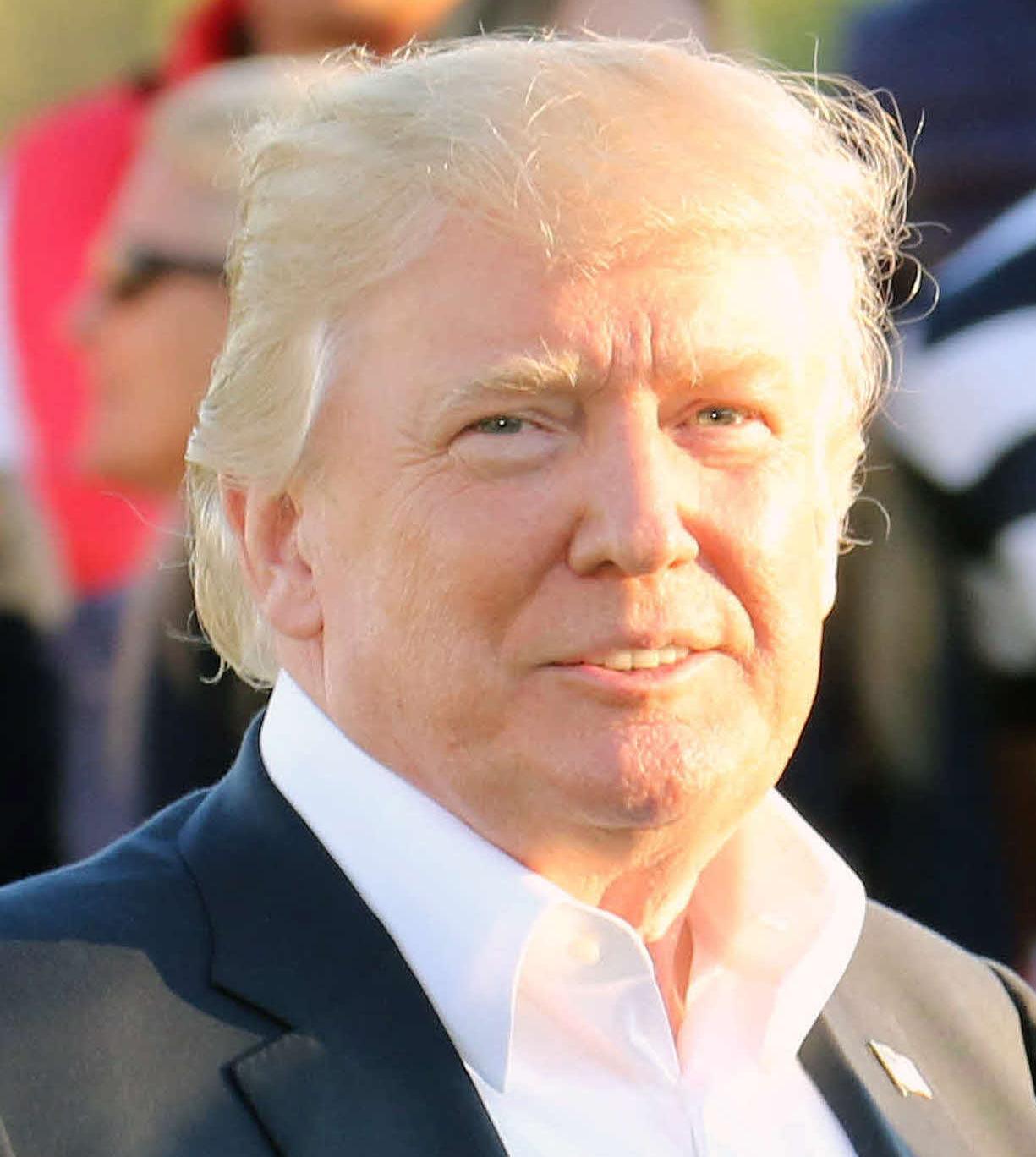 トランプ大統領(2017年10月1日撮影)