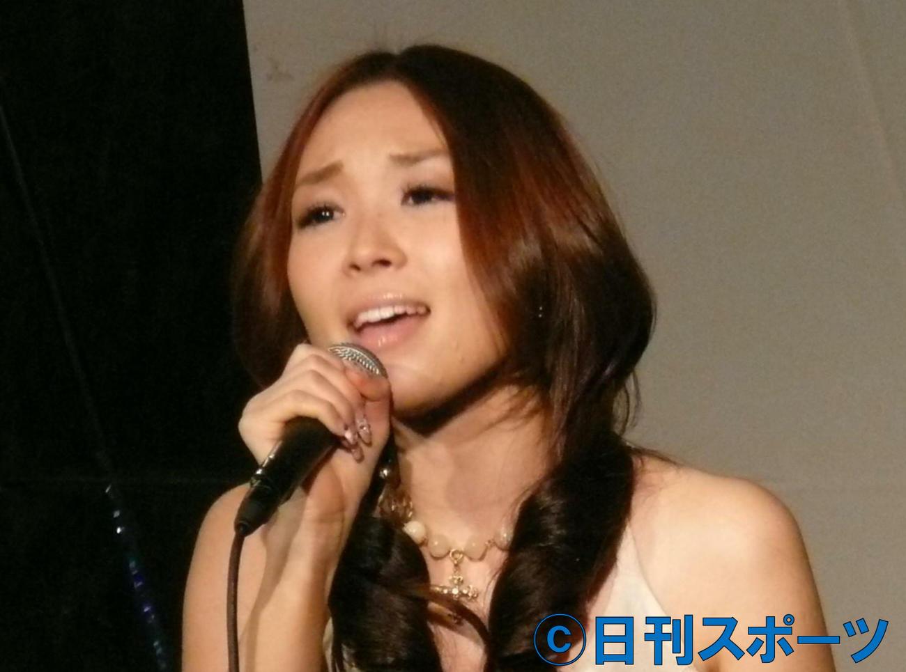 愛内里菜(2007年12月19日撮影)