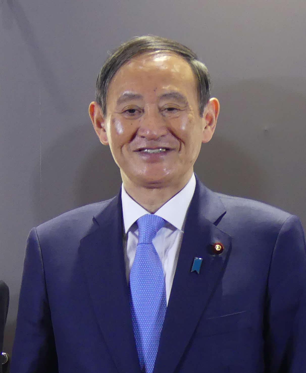 菅義偉官房長官(2019年4月28日撮影)