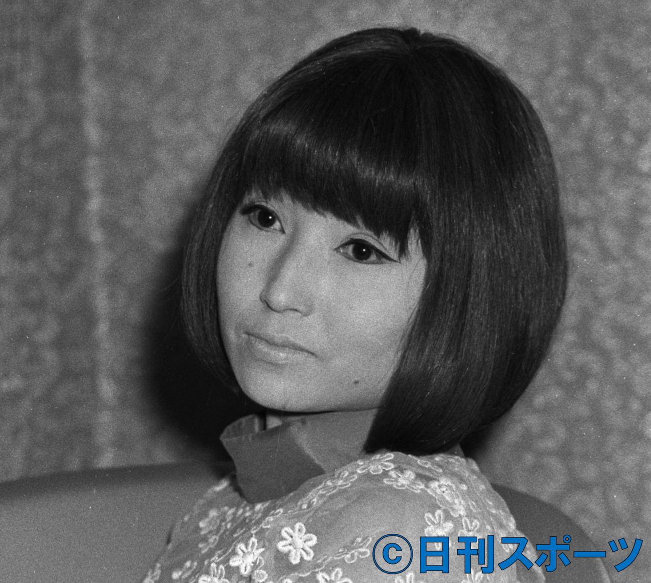 黒柳徹子(69年撮影)