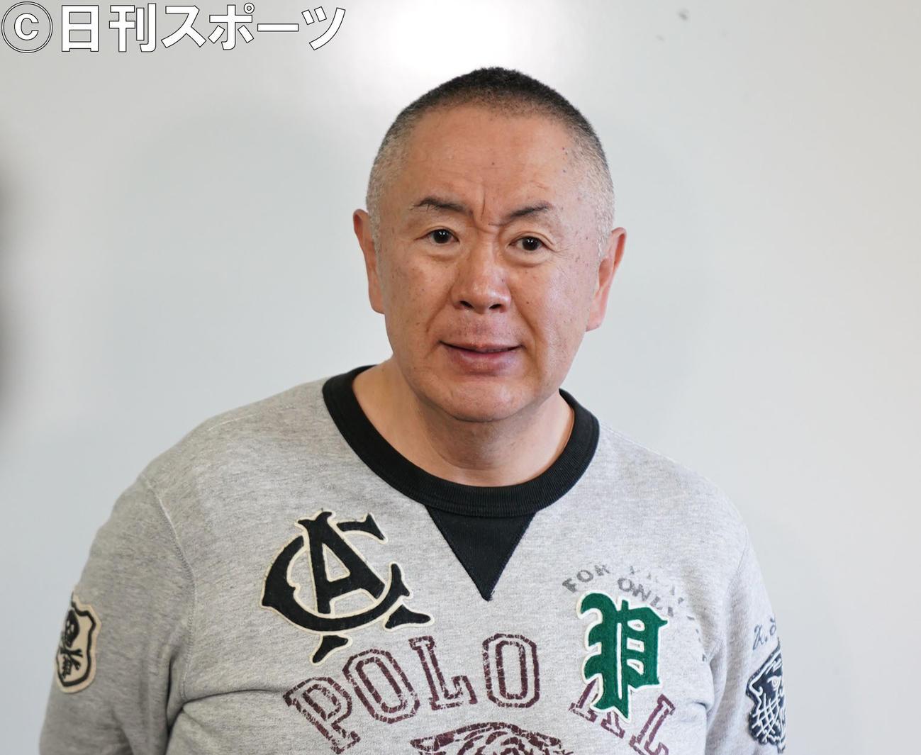 松村邦洋(20年2月撮影)