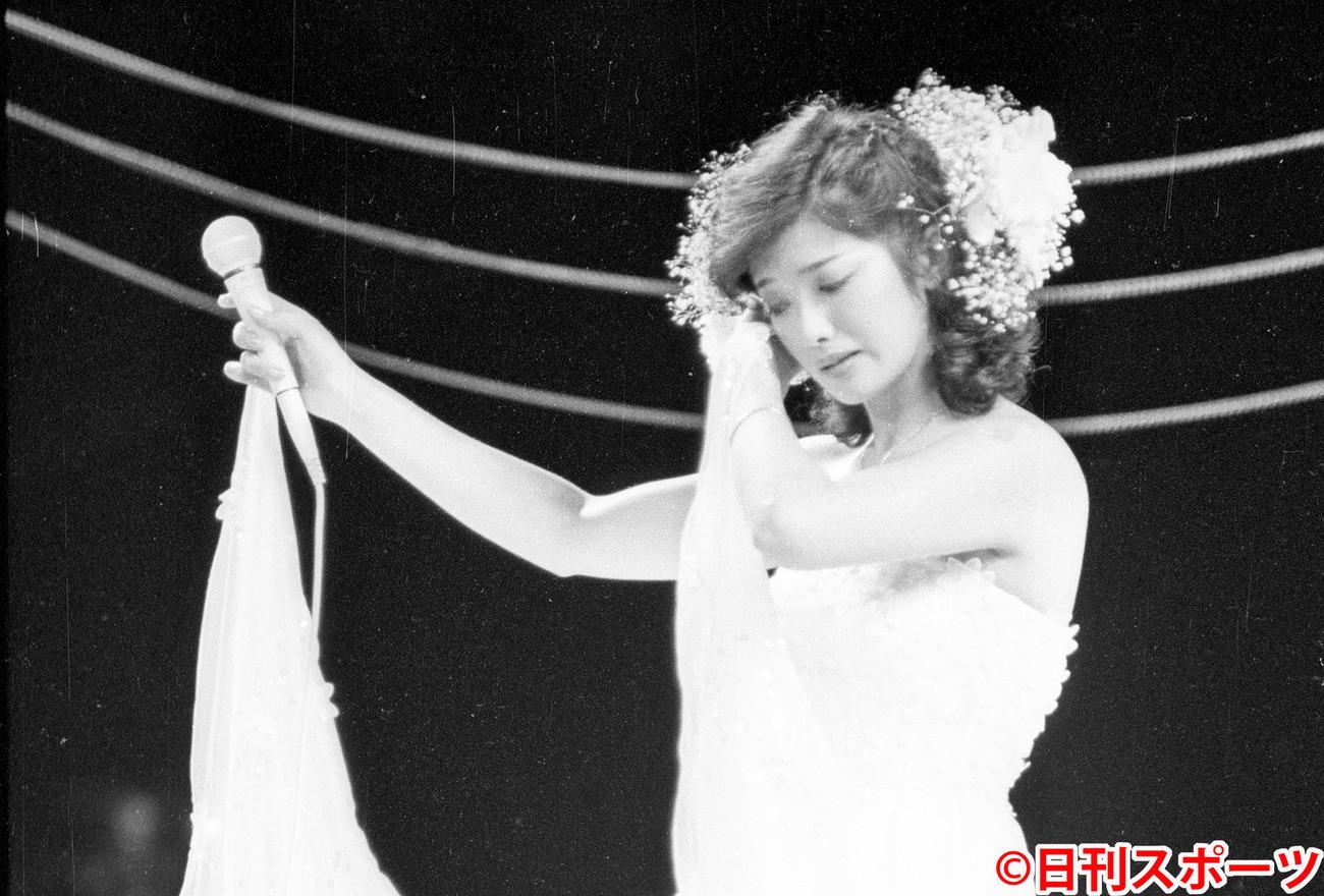 山口 百恵 コンサート 山口百恵さん伝説のコンサート 30日午後、NHK総合で放送