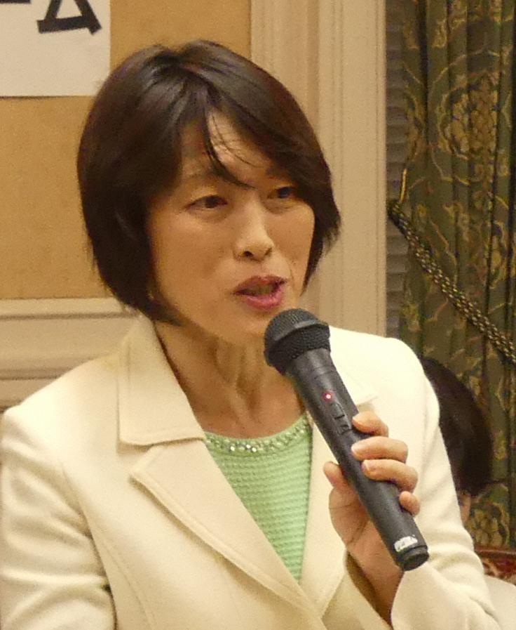 共産党の田村智子参院議員=2019年11月14日