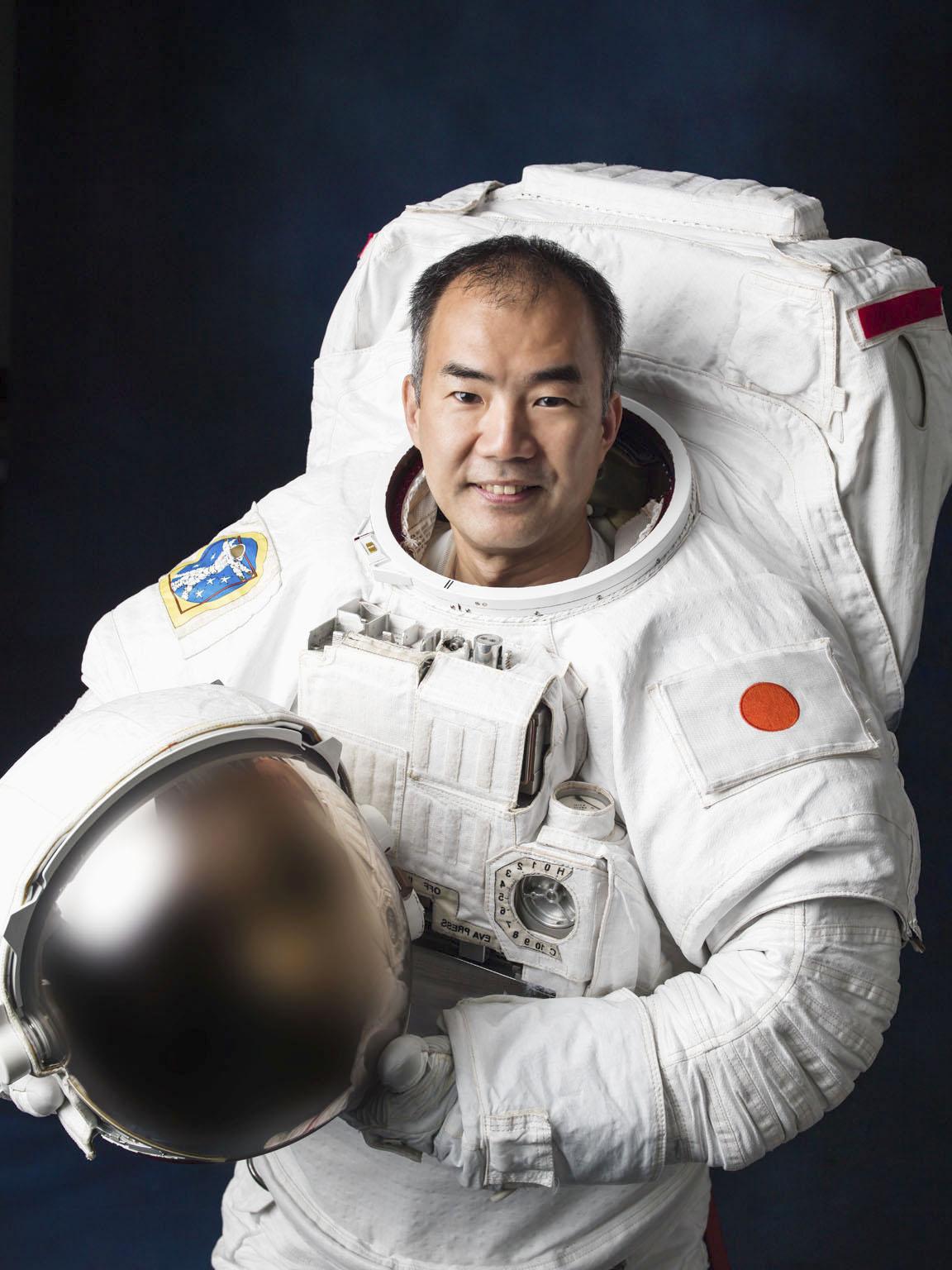 野口聡一飛行士(JAXA/NASA提供)