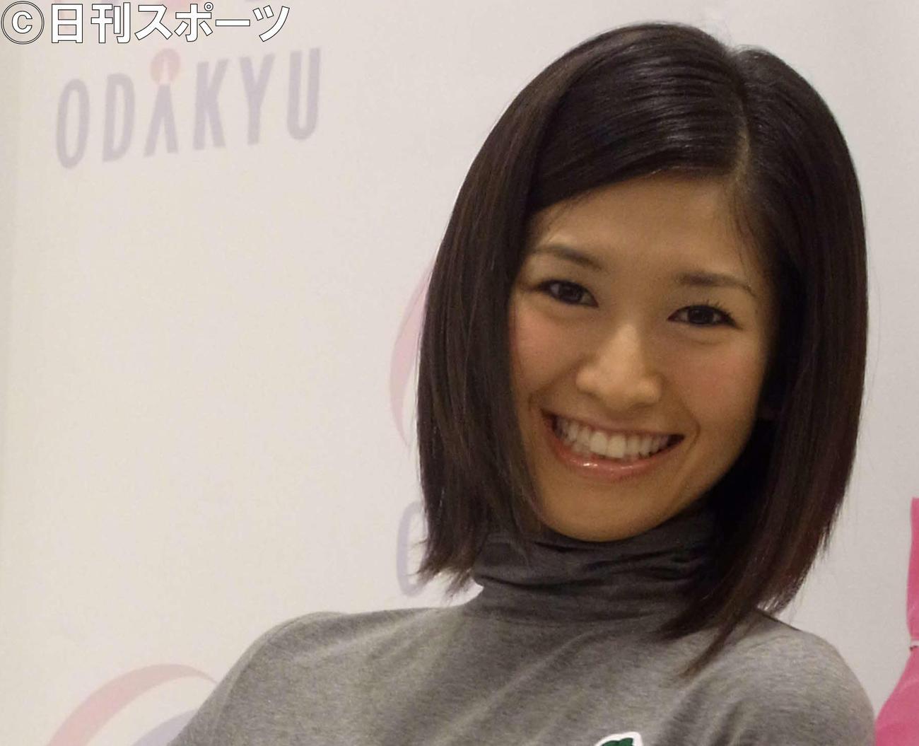 森下千里さん(2010年9月2日撮影)