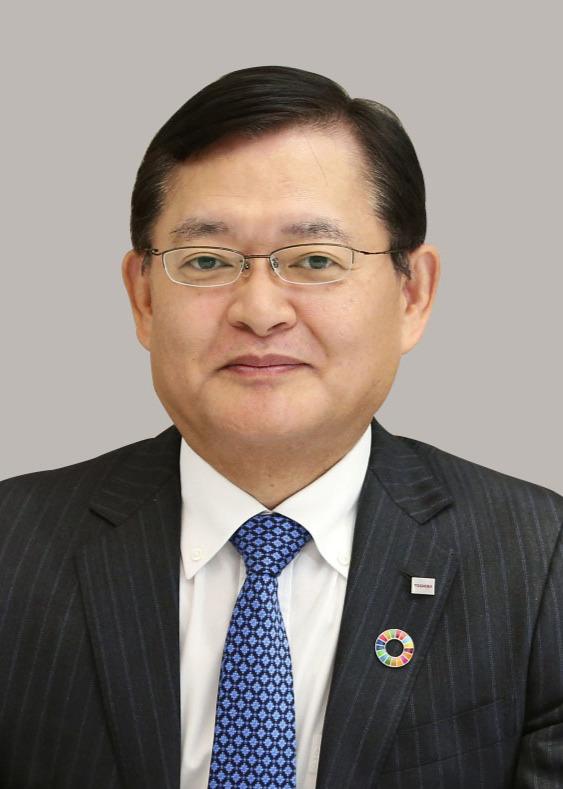 東芝の車谷暢昭社長兼CEO(共同)