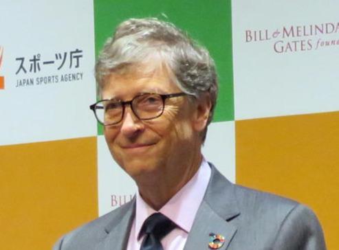 ビル・ゲイツ氏(2018年11月9日撮影)
