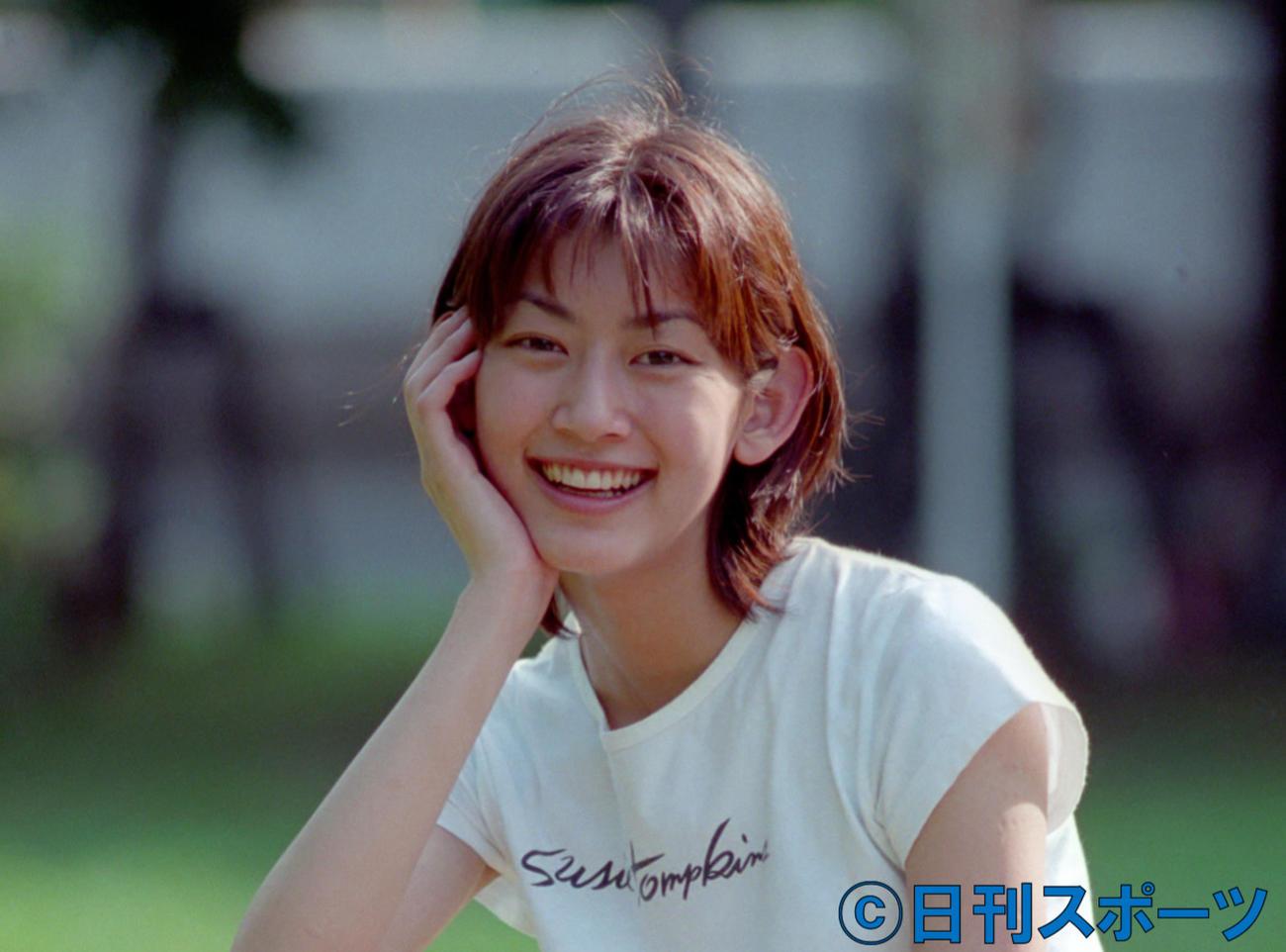 佐藤藍子(1996年撮影)