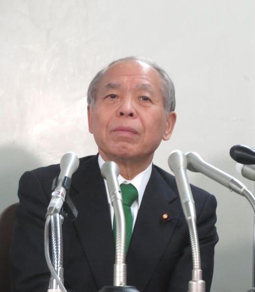 鈴木宗男氏(2019年3月20日撮影)