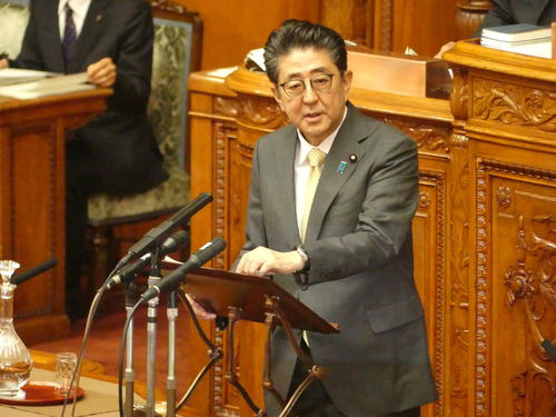 安倍晋三首相(2019年6月5日)