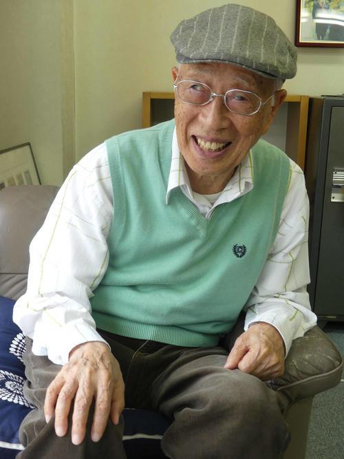 24年ぶりの国政を目指し、東京選挙区から出馬した野末陳平氏(2019年7月6日撮影)