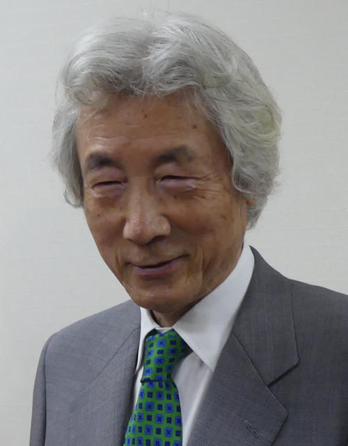 小泉純一郎元首相(2018年5月23日撮影)