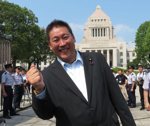 立花孝志参院議員