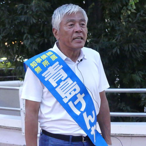 青島健太氏(19年8月撮影)