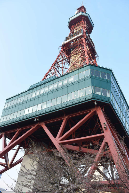札幌テレビ塔(2018年5月15日撮影)