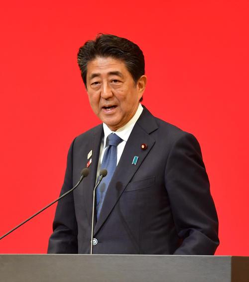 安倍晋三内閣総理大臣(2019年7月24日撮影)