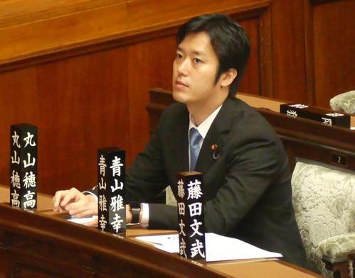丸山穂高衆院議員(2019年6月25日撮影)