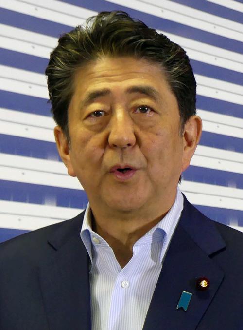 安倍晋三首相(2019年7月22日撮影)